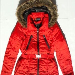 Dollhouse Lightweight Red Fall/Winter Jacket